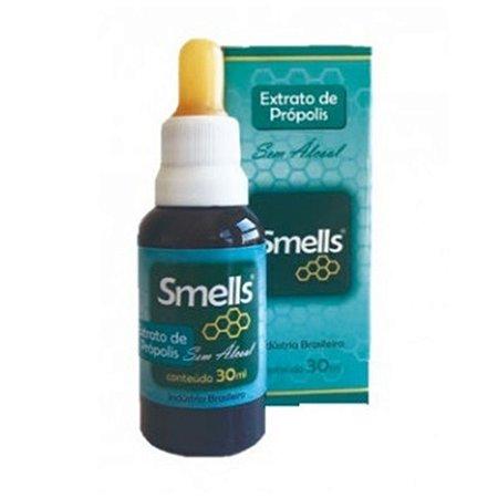 EXTRATO DE PRÓPOLIS SEM ALCOOL SMELLS 30ML