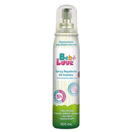 Repelente Bebe Love Spray Infantil 100ml Nutriex