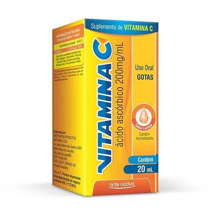 VITAMINA C GTS 20ML - ARTE NATIVA