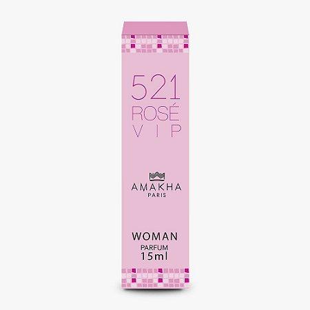 Perfume Amakha Paris 15ml Woman 521 Rose Vip