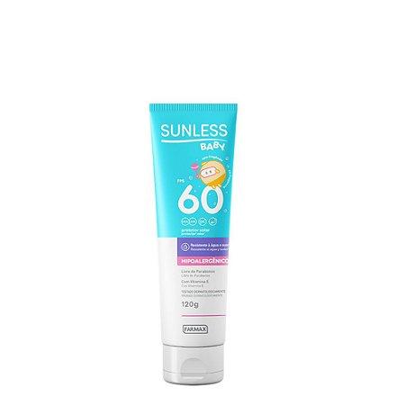 Sunless Protetor Solar FPS 60 Baby 120g