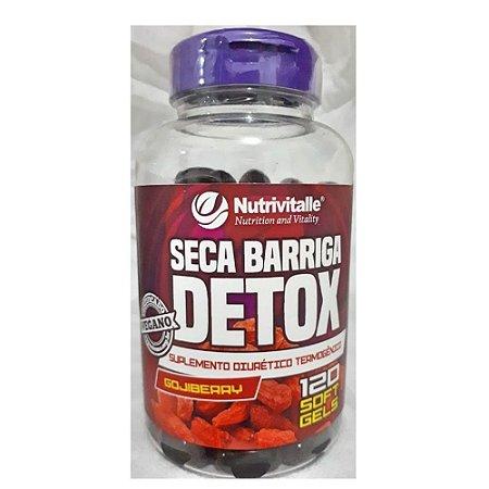 Seca Barriga Detox Gojiberry 120CPS - Nutrivitalle
