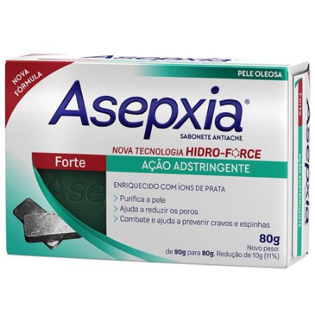 Asepxia Sabonete Forte 80g