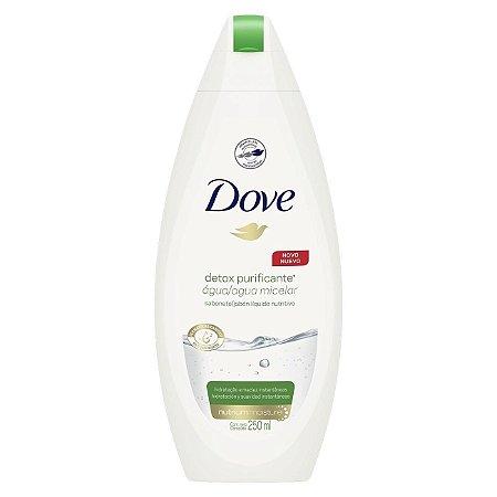 Sabonete Dove Liquido Detox Purificante Agua Micelar 250ml