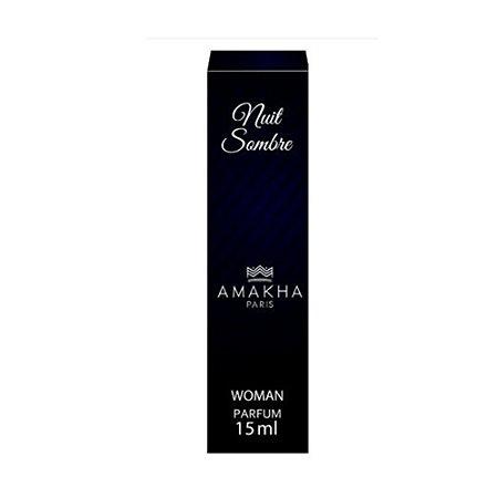 Perfume Amakha Paris 15ml Woman Nuit Sombre