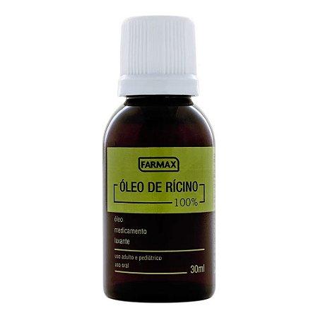 Óleo de Ricino Farmax 30ml
