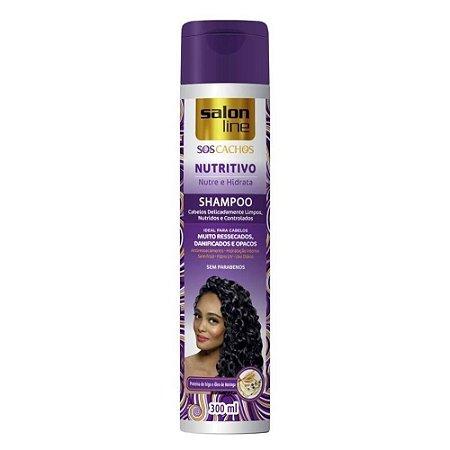 Shampoo Salon Line SOS Cachos Super Oleos Nutritivo 300ml