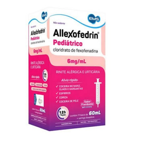 Fexofenadina - ALLEXOFEDRIN Pediatrico 60ml