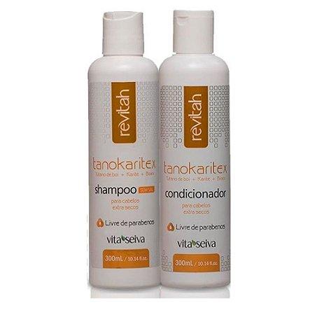 Vita Seiva Tanokaritex Shampoo+Condcionador 300ml Cada