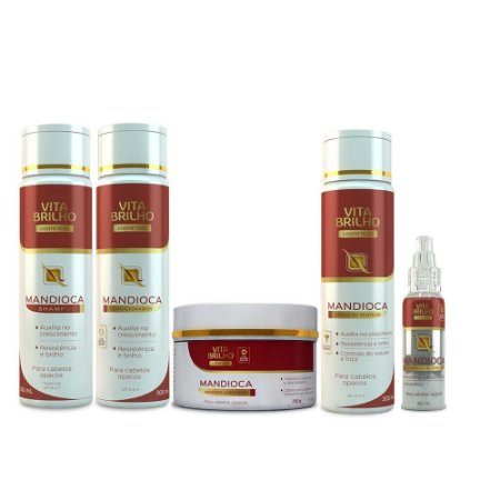 Kit Vita Brilho Mandioca (5 produtos)