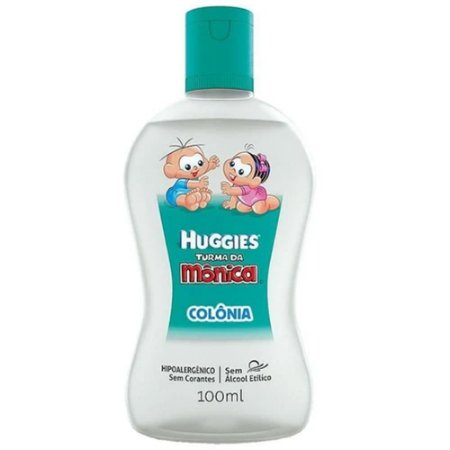 Colonia Huggies Turma da Monica Extra Suave 100ml