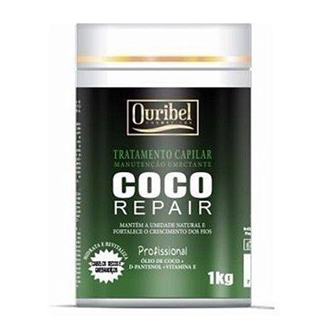 Ouribel Máscara Tratamento Capilar 1kG Coco Repair