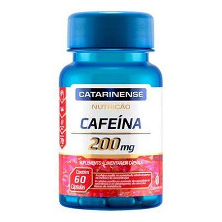 CAFEINA 200MG 60CAPS CATARINENSE