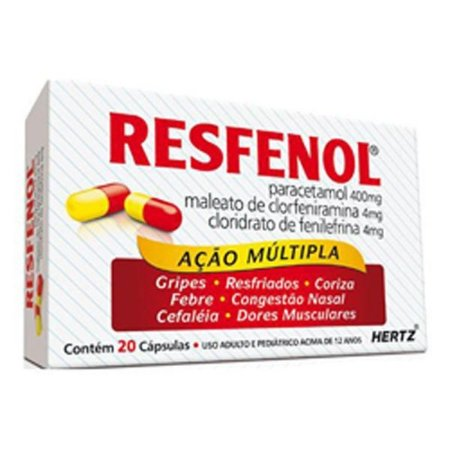 Resfenol 20caps Kley Hertz