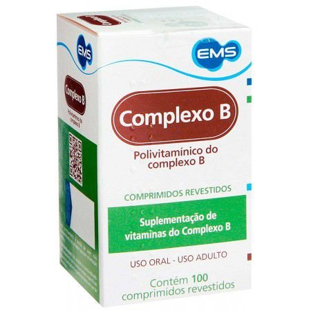 COMPLEXO B 100cpr - EMS