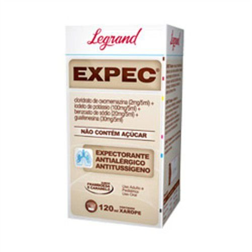 EXPEC xarope 120ml - Legrand