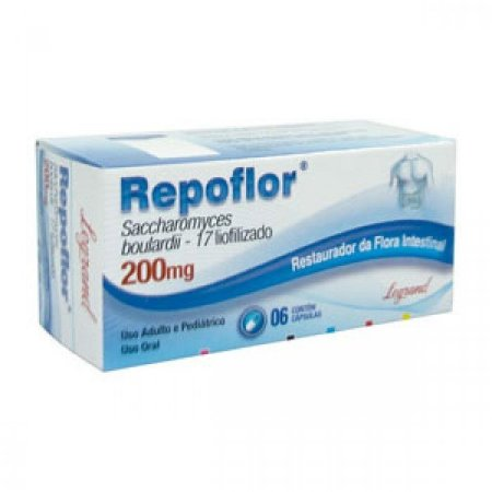 REPOFLOR 200MG 6CPS