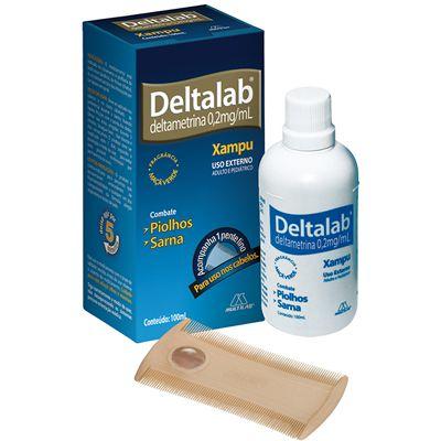 DELTAMETRINA SH 100ML - DELTALAB