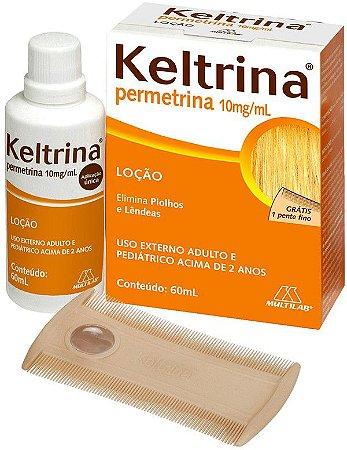 Permetrina Loção 1% 60ml  Keltrina
