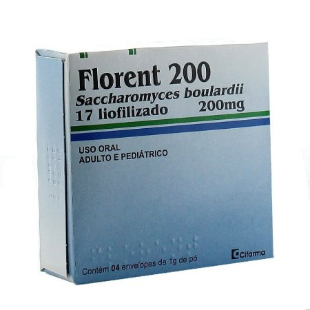 FLORENT 200MG 4envelopes
