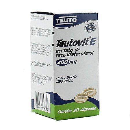 Vitamina E 30cps - Teutovit E 400 mg
