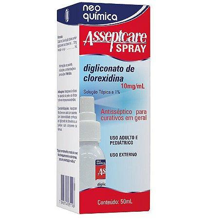 CLOREXIDINA spray  - ASSEPTCARE 50ML
