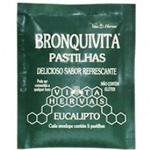 PASTILHA BRONQUIVITA eucalipto 5pst - Vitalab