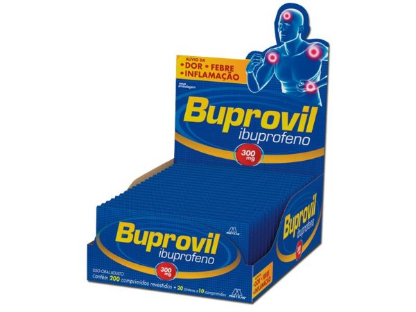 IBUPROFENO 300MG 10CPR - BUPROVIL