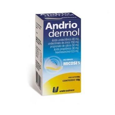 ANDRIODERMOL PO 50GR UNIAO QUIMICA