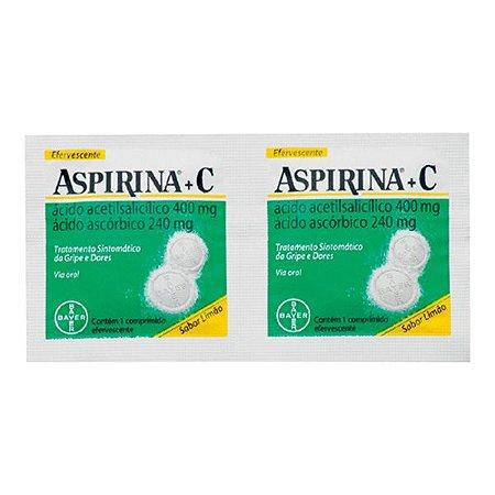 ASPIRINA C LIMAO 2cpr efervecente