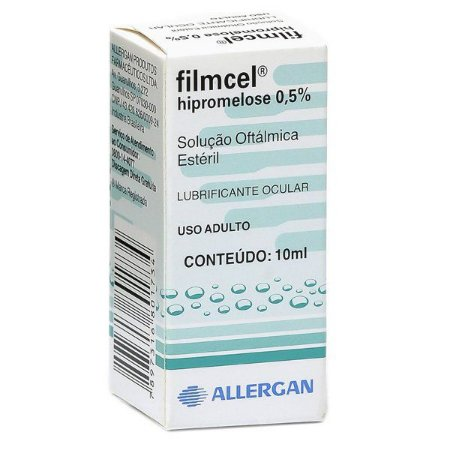 Hipromelose - FILMCEL 0,5 % COL 10ML