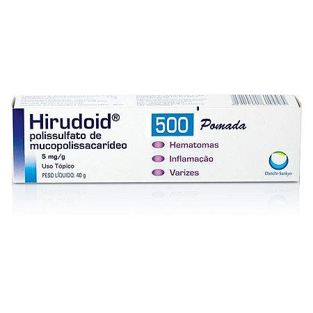 HIRUDOID 500MG PDA 40G