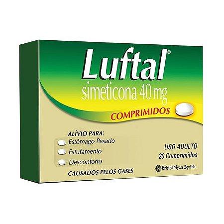 Simeticona - LUFTAL 40mg 20CPR