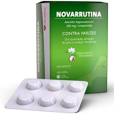 NOVARRUTINA 385mg 30 comprimidos