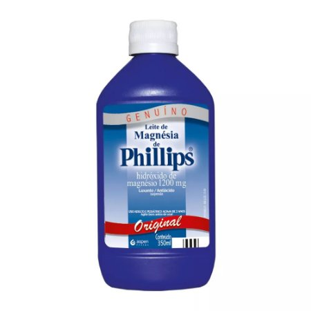 Leite de Magnesia Phillips Original 350ML