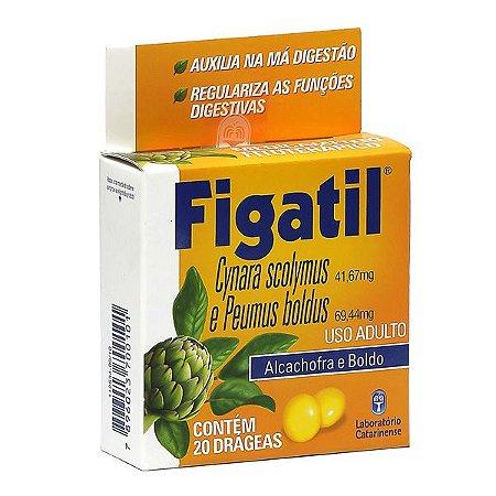Cynara scolymus+Peumus boldus - FIGATIL 20 dráges