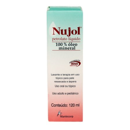 NUJOL 120ML - Mantecorp