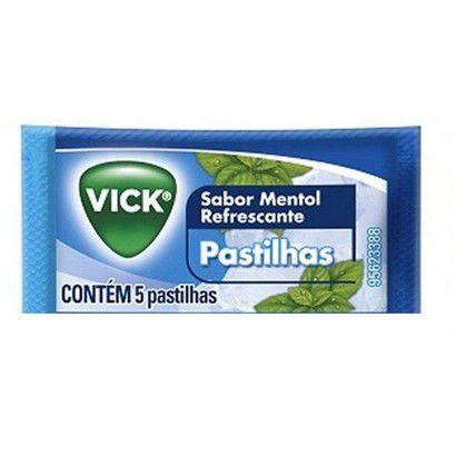 VICK PST MENTOL ENV 5UN