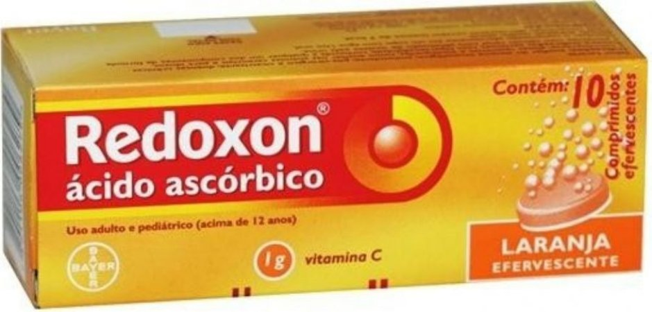 Acido Ascorbico - REDOXON 1GR EFERV LARANJA