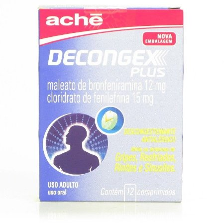 DECONGEX PLUS 12CPR