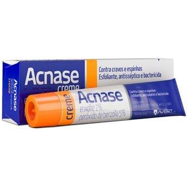 Enxofre Peroxido Benzoila - Acnase Creme 25g - Avert