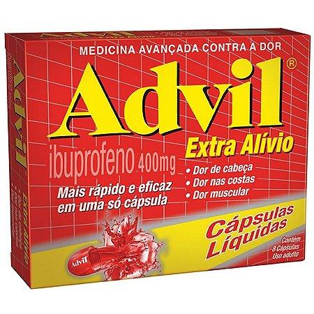 ADVIL EXTRA ALIVIO 8cps - Ibuprofeno
