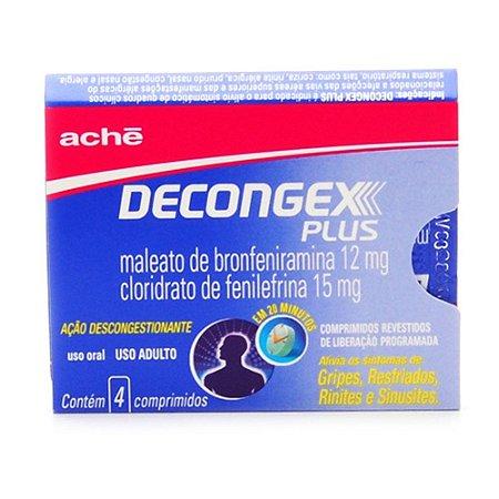 DECONGEX PLUS 4cpr