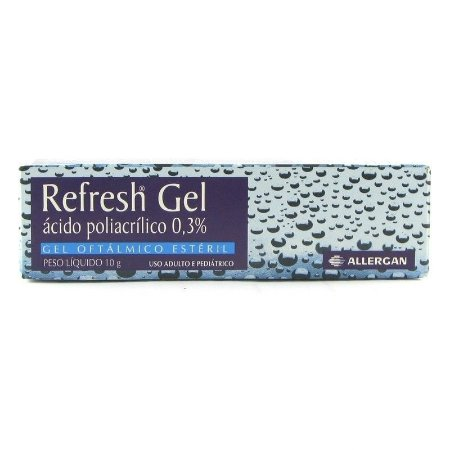 REFRESH 3% GEL BG 10G