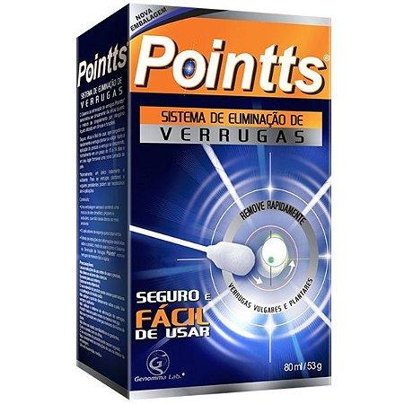 Pointts Sistema de Eliminação de Verrugas c/ 12 aplicadores