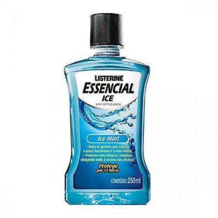 Listerine Essencial 250ml Ice Mint