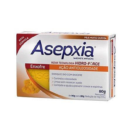 Asepxia Sabonete Enxofre 80g