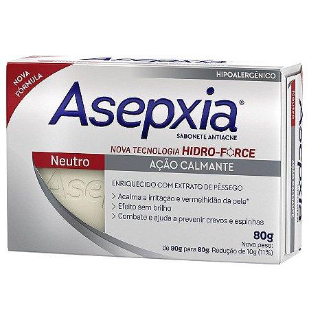 Asepxia Sabonete Neutro 80g