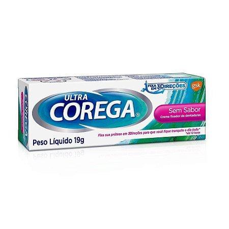 Corega Ultra creme em sabor 19g