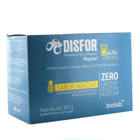DISFOR ABACAXI 30 SACHES 11G